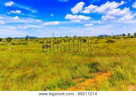 Landscape Near Windhoek In Namibia