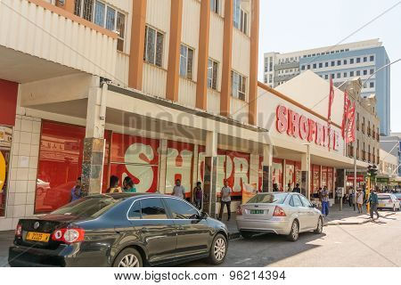 Shopping Mall In Windhoek, Namibia