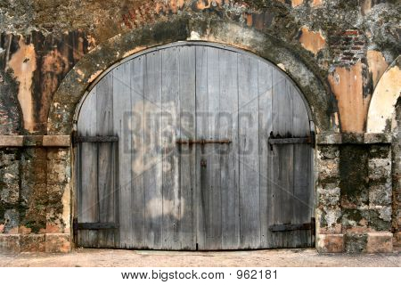 Old Colonial Doors