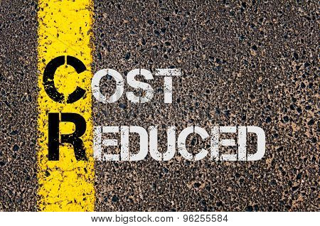 Business Acronym Cr As Cost Reduced