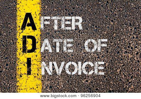 Business Acronym Adi As After Date Of Invoice