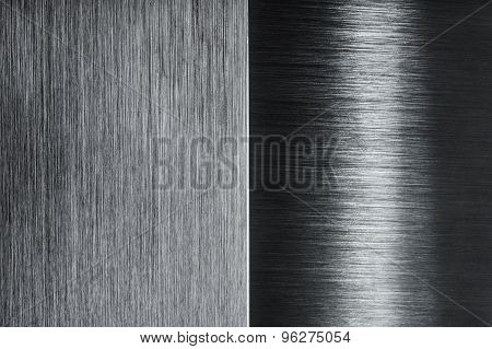 brushed metal contrast design background