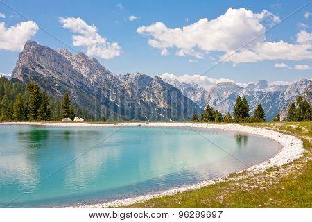 Lake At Cresta Bianca, Dolomiti