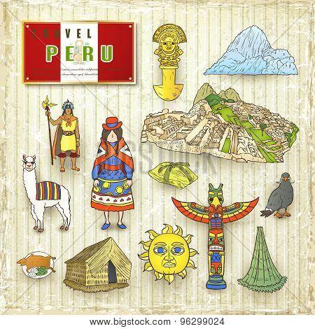 Travel Concept Of Peru