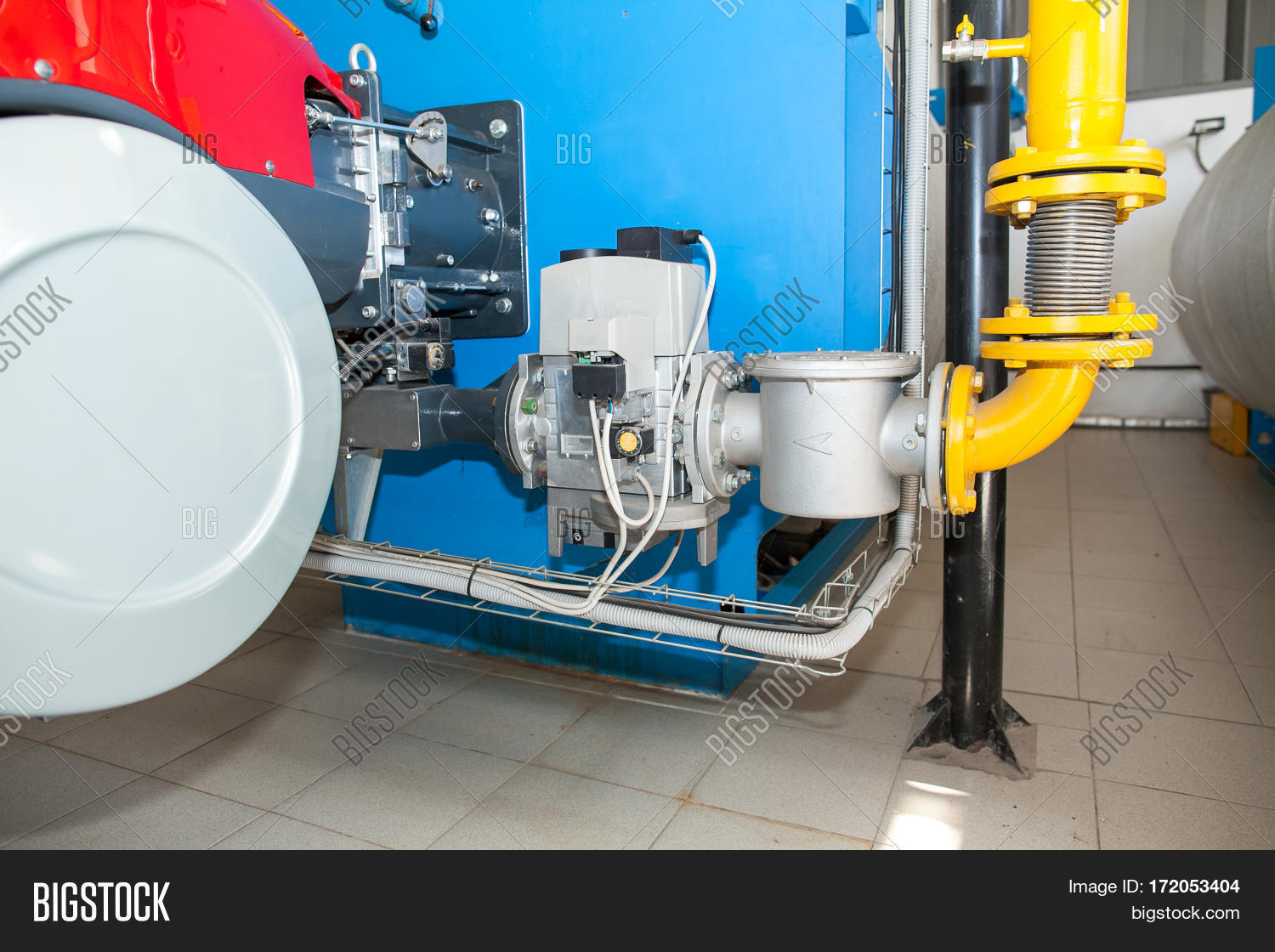 Modern Boiler Room Image & Photo (Free Trial) | Bigstock