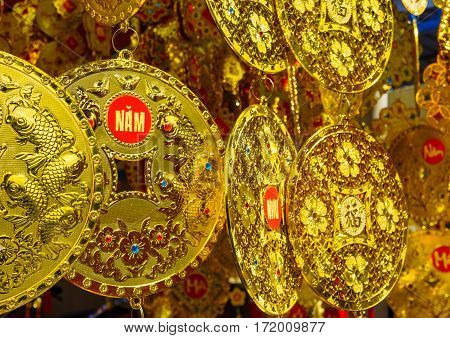 Gold Coin Chinese New Year