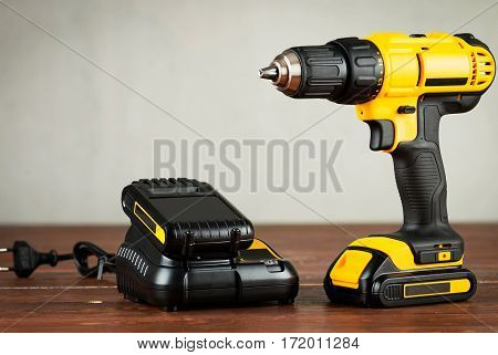 new cordless drill and charger with battery