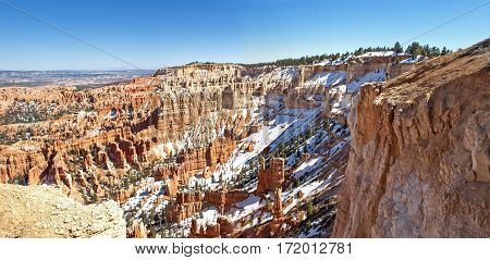 The Bryce Canyon National Park Utah, United States.