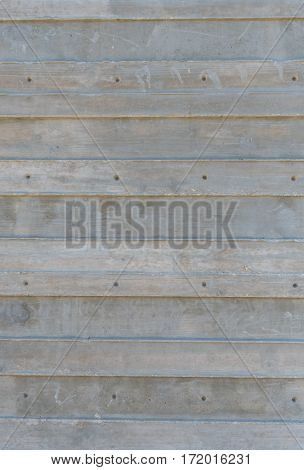 Molded Concrete Wall Texture with slats running horizontal