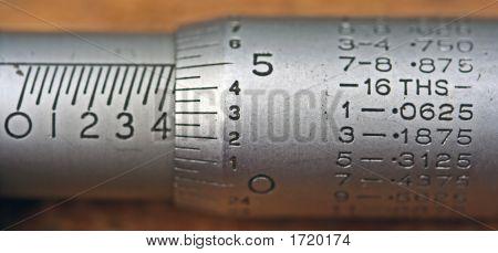 Imperial Micrometer