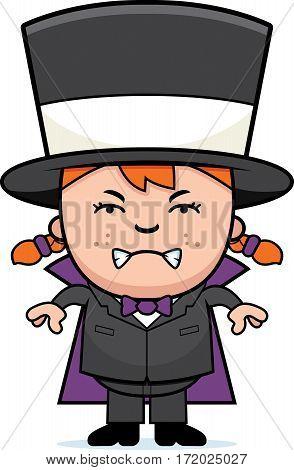 Angry Girl Magician
