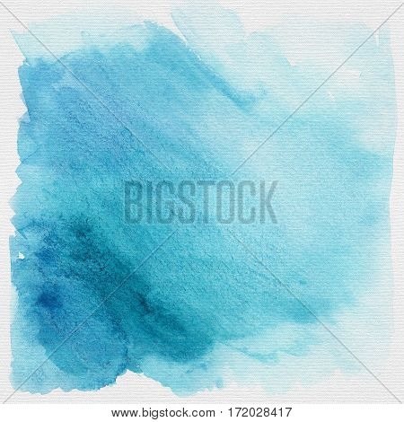 Blue heaven grunge watercolor background or texture