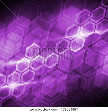 Abstract connection structure as connection concept on color background, abstract color background