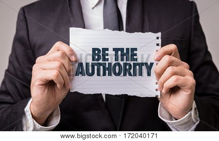 Be The Authority