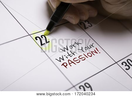 Work With Your Passion
