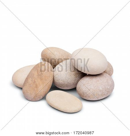 pebble pebble, harmony tower on a white background