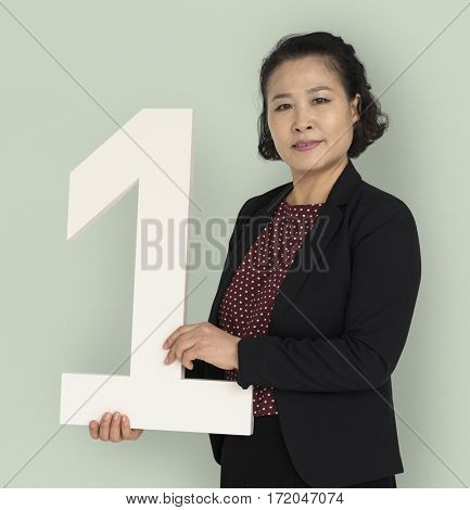Asian Business Woman Number One