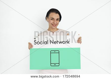 Mobile Phone Telecommunication Social Network Connection