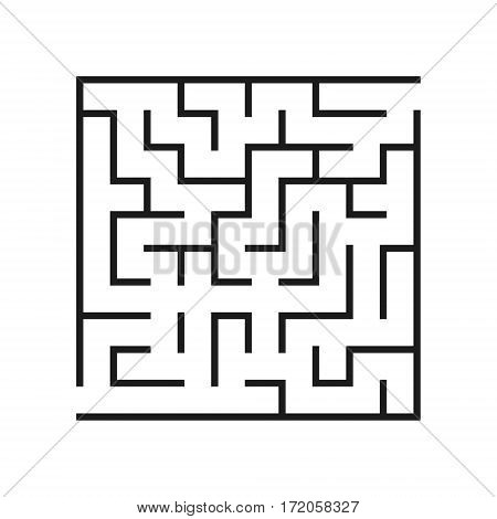 Vector labyrinth. Maze or Labyrinth. Vector illustration.