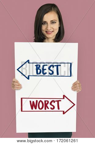 Best Worst Decision Guidance Decision Word