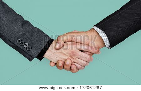 Human Hands Handshake Business Corporate Concept