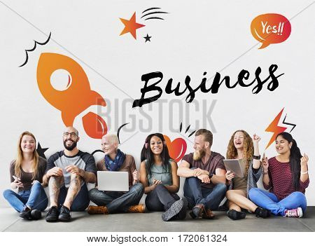 Start up Business Progress Strategy Enterprise