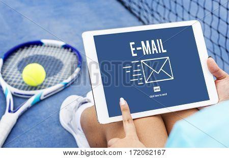 E-mail Communication Data Internet Message Concept