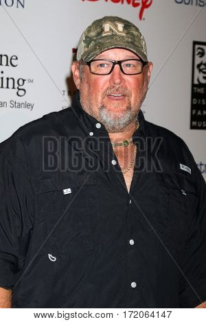 LOS ANGELES - NOV 1:  Daniel Whitney, aka Larry the Cable Guy at the The Walt Disney Family Museum 2nd Annual Gala at Disney's Grand Californian Hotel & Spa on November 1, 2016 in Anaheim, CA
