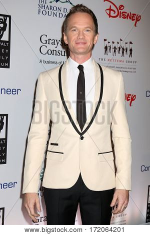 LOS ANGELES - NOV 1:  Neil Patrick Harris at the The Walt Disney Family Museum 2nd Annual Fundraising Gala at Disney's Grand Californian Hotel & Spa on November 1, 2016 in Anaheim, CA