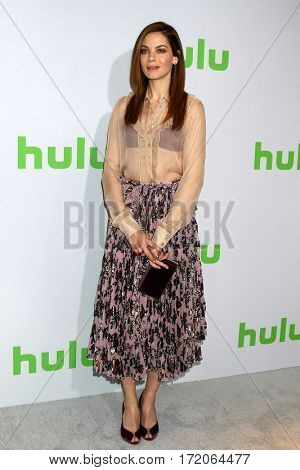 PASADENA - JAN 7:  Michelle Monaghan at the HULU TCA Winter 2017 Photo Call at the Langham Hotel on January 7, 2017 in Pasaden, CA