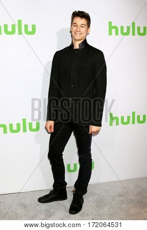 PASADENA - JAN 7:  Kyle Allen at the HULU TCA Winter 2017 Photo Call at the Langham Hotel on January 7, 2017 in Pasaden, CA