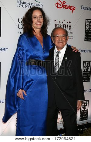LOS ANGELES - NOV 1:  Kristen Komoroske, Marty Sklar at the The Walt Disney Family Museum 2nd Annual Fundraising Gala at  Disney's Grand Californian Hotel & Spa on November 1, 2016 in Anaheim, CA