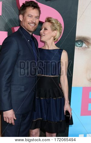 LOS ANGELES - FEB 7:  James Tupper, Anne Heche at the