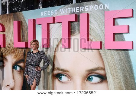 LOS ANGELES - FEB 7:  Reese Witherspoon at the