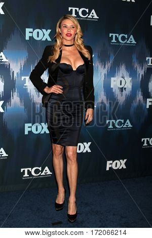 LOS ANGELES - JAN 11:  Brandi Glanville at the FOXTV TCA Winter 2017 All-Star Party at Langham Hotel on January 11, 2017 in Pasadena, CA