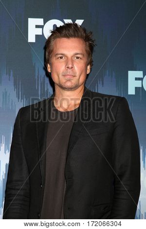 LOS ANGELES - JAN 11:  Len WIseman at the FOXTV TCA Winter 2017 All-Star Party at Langham Hotel on January 11, 2017 in Pasadena, CA