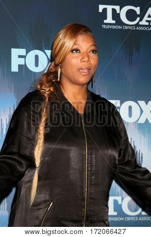 LOS ANGELES - JAN 11:  Queen Latifah, Dana Owens at the FOXTV TCA Winter 2017 All-Star Party at Langham Hotel on January 11, 2017 in Pasadena, CA