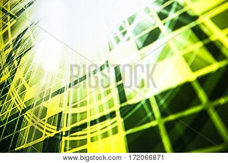 Abstract modern technology background light colors photo