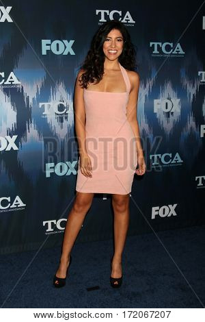 LOS ANGELES - JAN 11:  Stephanie Beatriz at the FOXTV TCA Winter 2017 All-Star Party at Langham Hotel on January 11, 2017 in Pasadena, CA