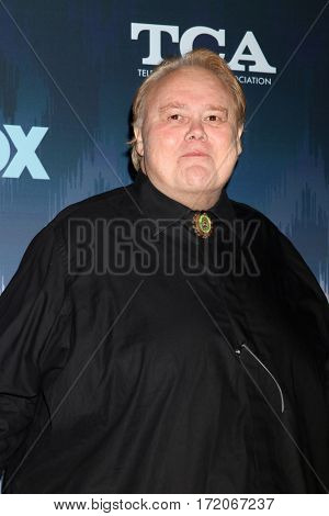 LOS ANGELES - JAN 11:  Louie Anderson at the FOXTV TCA Winter 2017 All-Star Party at Langham Hotel on January 11, 2017 in Pasadena, CA