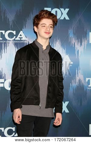 LOS ANGELES - JAN 11:  Thomas Barbusca at the FOXTV TCA Winter 2017 All-Star Party at Langham Hotel on January 11, 2017 in Pasadena, CA