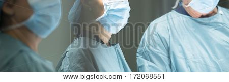 Surgeon In Hospital Surgery