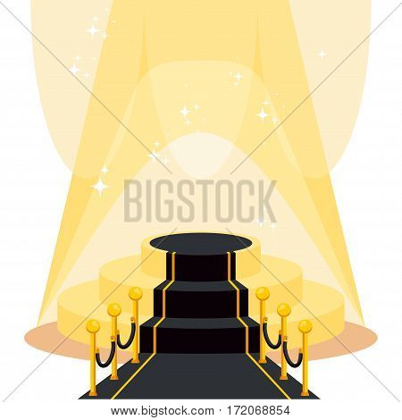 Bright Black Carpet