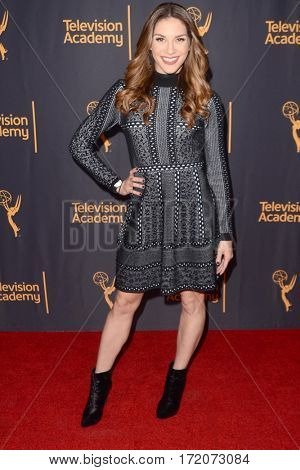 LOS ANGELES - FEB 16:  Allison Holker at the Whose Dance Is It Anyway? Event at the ATAS Saban Media Center on February 16, 2017 in North Hollywood, CA