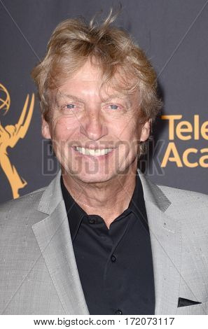 LOS ANGELES - FEB 16:  Nigel Lythgoe at the Whose Dance Is It Anyway? Event at the ATAS Saban Media Center on February 16, 2017 in North Hollywood, CA
