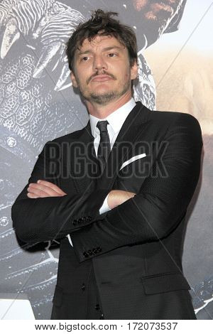 LOS ANGELES - FEB 15:  Pedro Pascal at