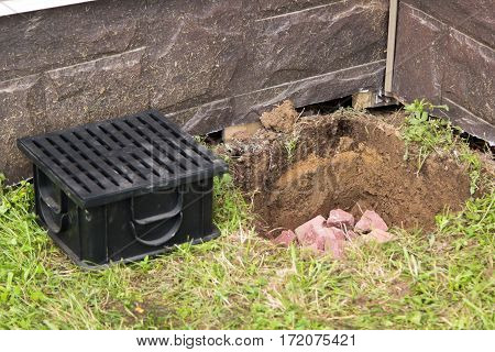 Construction Of Water Drainage Systems In Ground