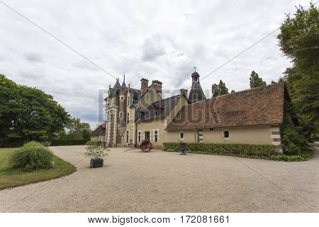Troussay Castle, The Smallest Castle In Loire Valley