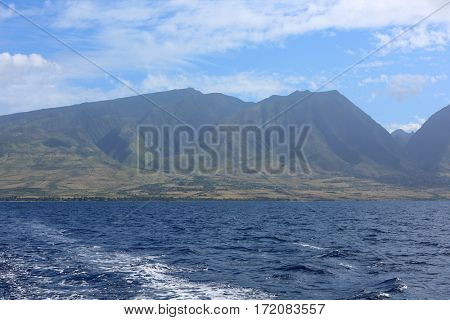 Maui Hawaii. View of Maui Hawaii. Maui is a vacation destination for people around the world.