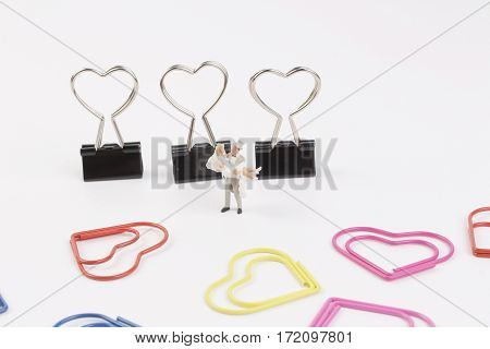Tiny Of Wedding Figure With Clip